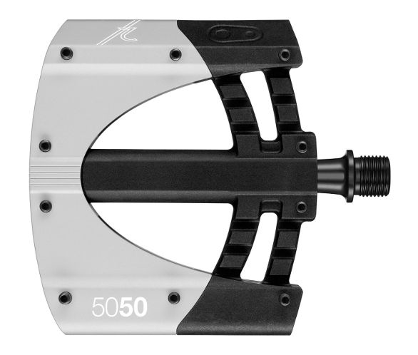 Crank Brothers 5050 2 Platform Bicycle Pedals-Black//Silver-New