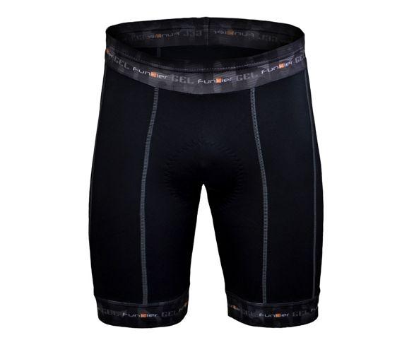 Funkier Men/'s Cycling MTB Road 8 Panel Super Soft Elastic Shorts Tights Black